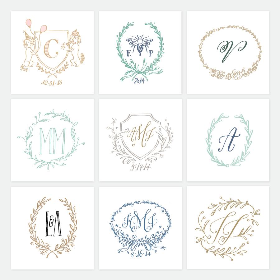 WEDDING LOGOS | Holly Hollon