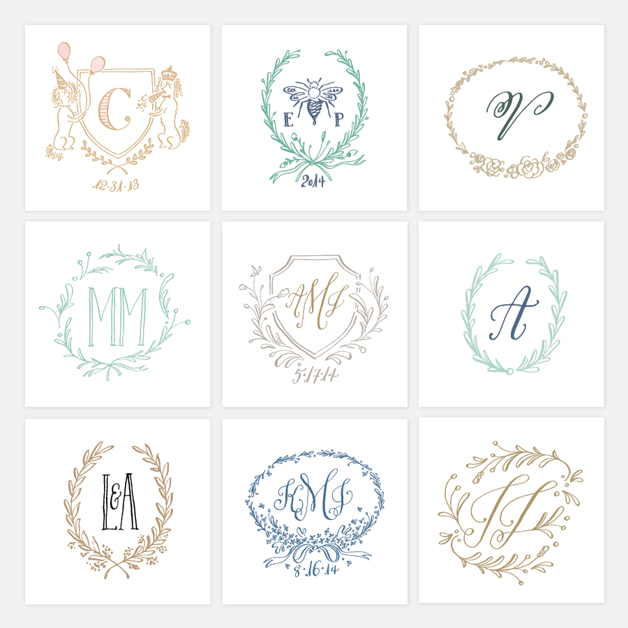 holly hollon wedding logos